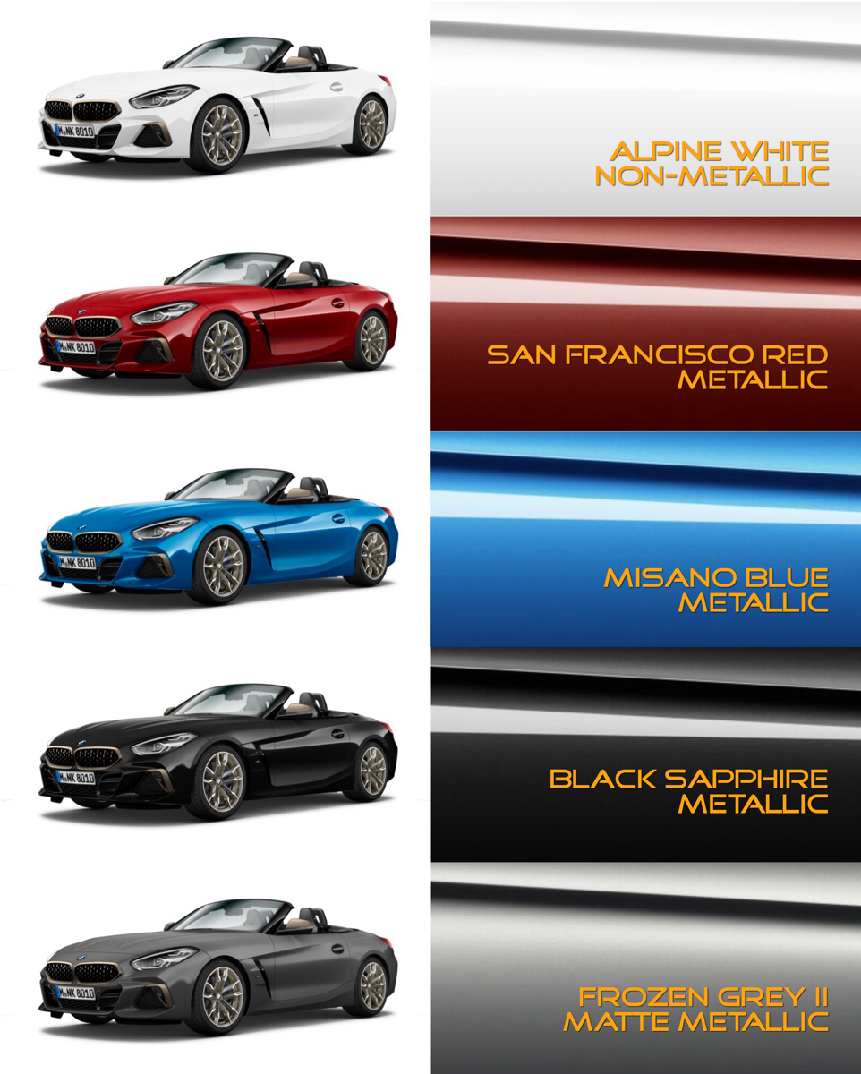 Which Colors Look Best On The Z4